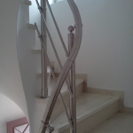 Κάγκελα Σκάλας σε κλιμακοστάσιο